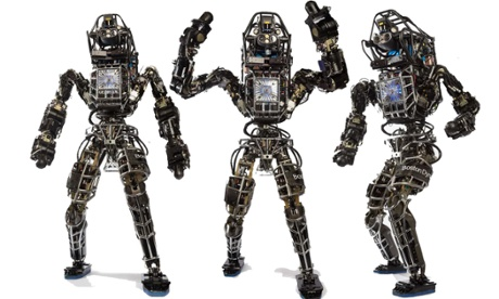 Atlas, un des robots humanoïde de Boston Dynamics