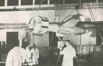 Le Fritz X allemand, un des premiers missiles guidées