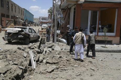 Afghan bombside 2013