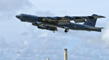 """Le B-52, un des bombardiers employé lors de l'opération """"Force alliée"""""""